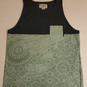 Billabong mosaic shifty tank top LIKE NEW